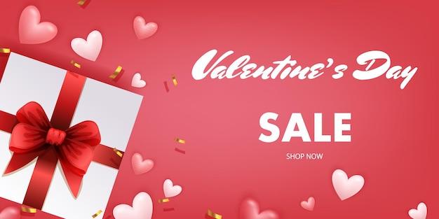 Vendita di banner per san valentino
