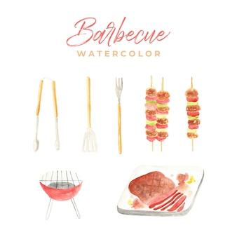 Acquerello di barbecue