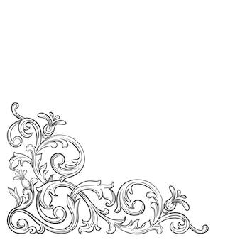 Angolo barocco vintage.