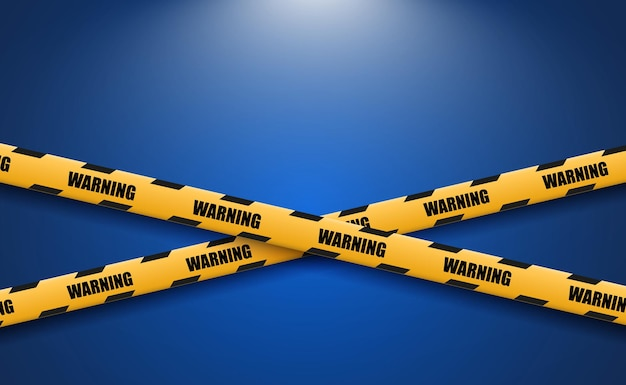 Nastro di avvertenza barriera