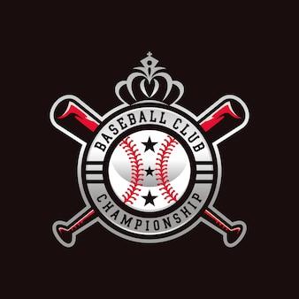 Disegno del logo del baseball