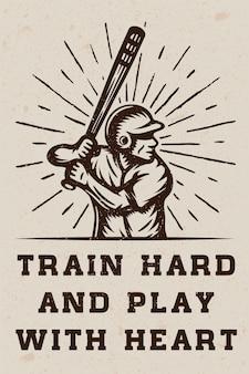 Logo di baseball