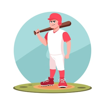 Battitore del giocatore di baseball