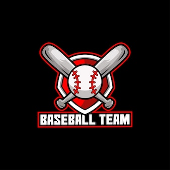 Squadra di baseball, sport americano, gioco di pipistrelli