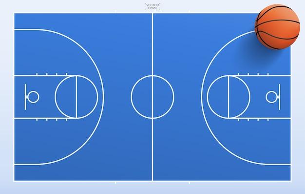 Progettazione di massima del campo da basket
