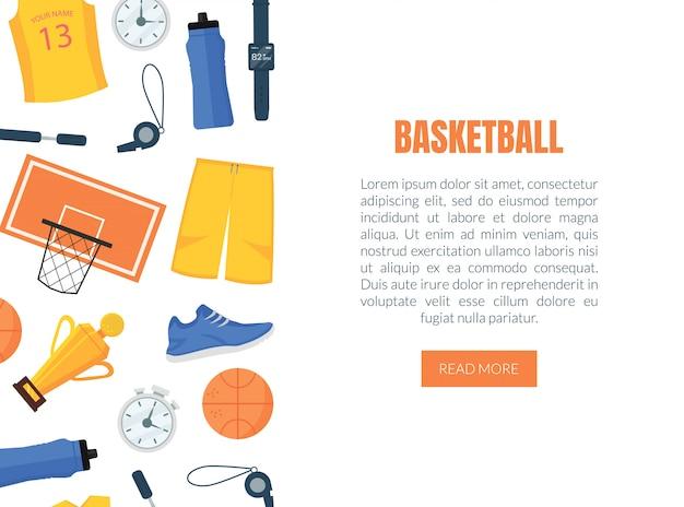 Banner web basket