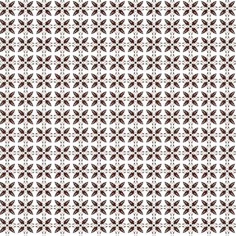 Batik indonesiano design classico d'arte