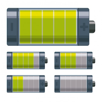 Design energetico della batteria.