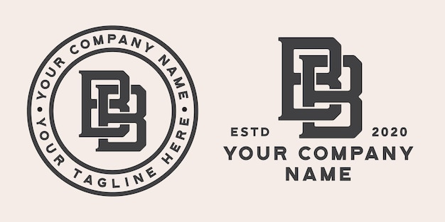 Logo monogramma bb