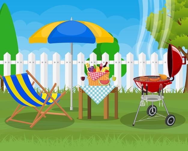 Festa con barbecue