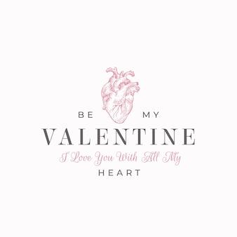 Sii il mio lettering di san valentino per san valentino