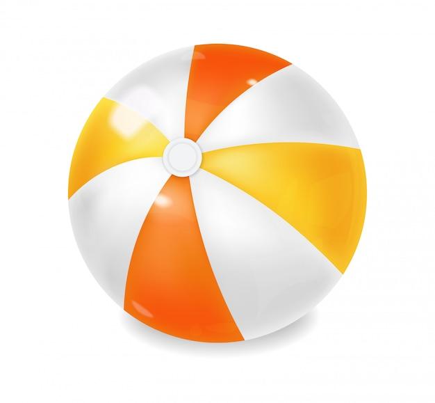 Pallone da spiaggia realistico, palla