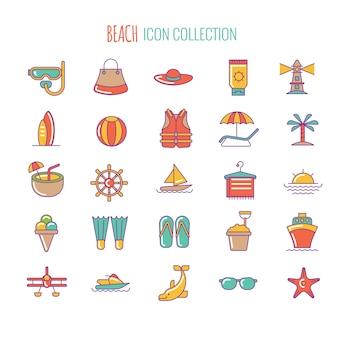 Icona della spiaggia