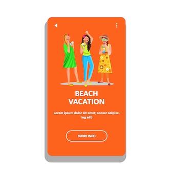 Vacanza al mare e festa in resort tropicale