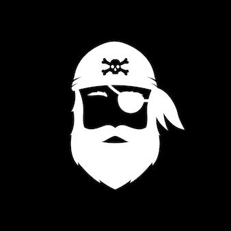 Icona uomo barbuto