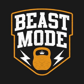 The beast, sport mode, con kettlebell