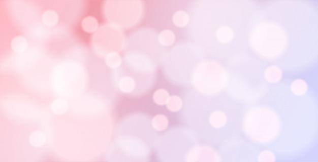 Bellissimo sfondo bokeh con colori romantici