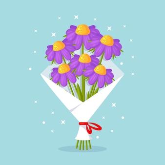 Bellissimo bouquet. mazzo di fiori per regalo