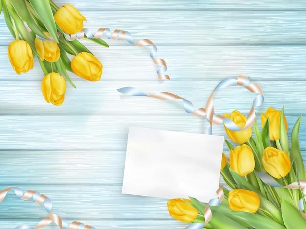 Bellissimo bouquet di tulipani.