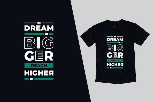Bella moderna citazioni t shirt design
