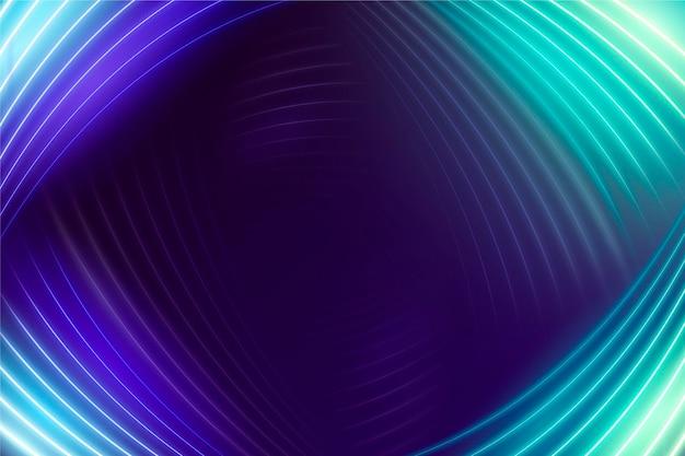Bellissimo design di sfondo al neon