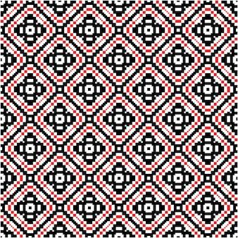 Bello modello senza cuciture con stile motivo mozaico