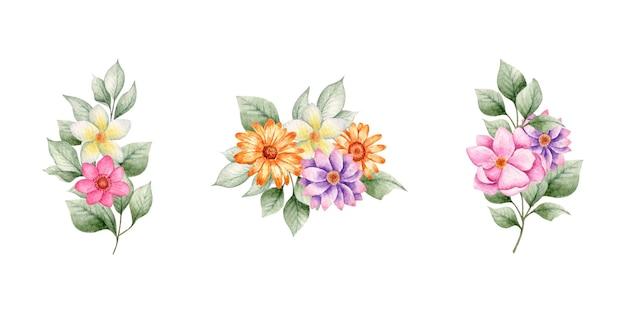 Bellissimo bouquet di fiori primaverili