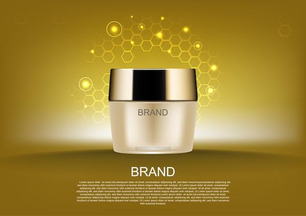 Annunci cosmetici di bellezza