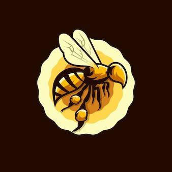 Disegno del logo dell'ape