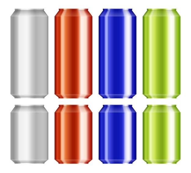 L'alluminio della birra può impostare isolato