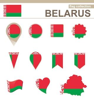 Collezione di bandiere della bielorussia, 12 versioni