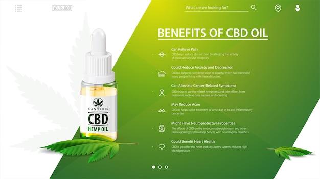 Benefici dell'olio di cbd