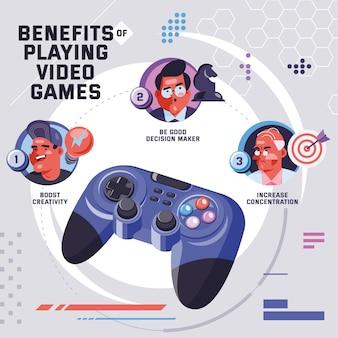 Vantaggi del giocare ai videogiochi