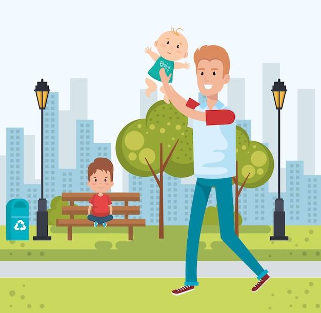 Miglior padre nei personaggi del parco