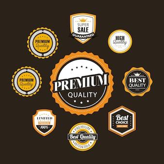 Set di nove guarnizioni della migliore qualità