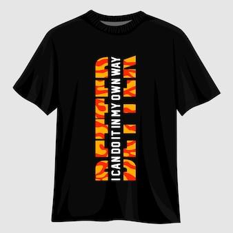 Migliore design della maglietta