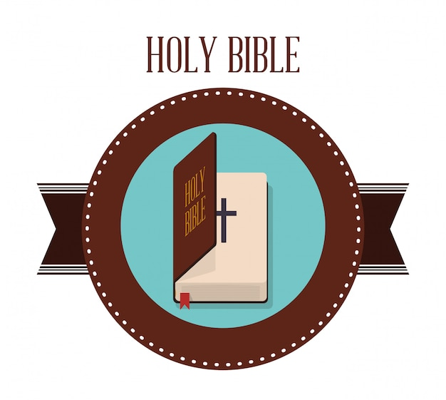 Disegno dell'icona della bibbia