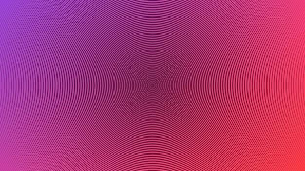 Uno sfondo astratto bicolore che utilizza linee di stile circolare come elemento principale.