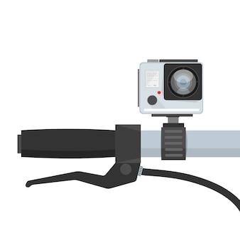 Videocamera da manubrio per bicicletta dvr