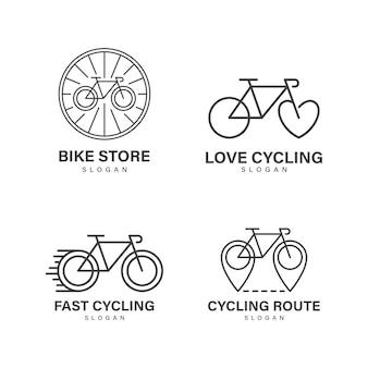 Disegno del logo della bicicletta