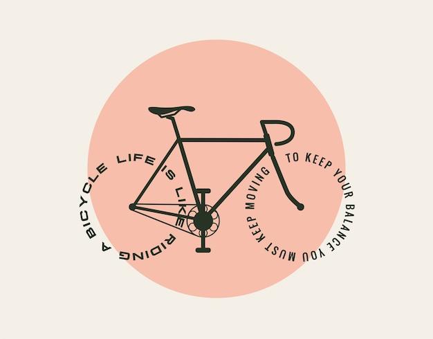 Biciclette motivazionali concept design