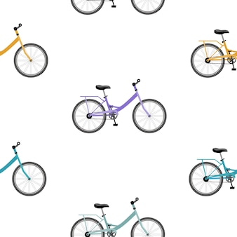 Modello senza cuciture di biciclette