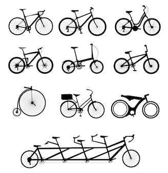 Set di biciclette