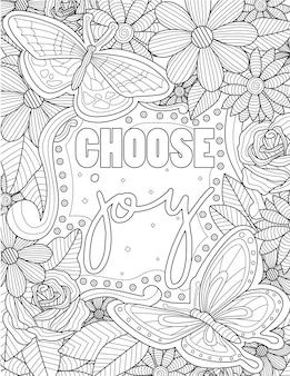 Grande disegno della farfalla che vola intorno al messaggio ispiratore dell'atmosfera. grande disegno a tratteggio della farfalla che galleggia sopra la nota di motivazione della vita positiva.