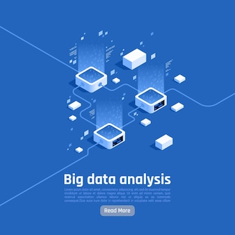 Banner di analisi dei big data