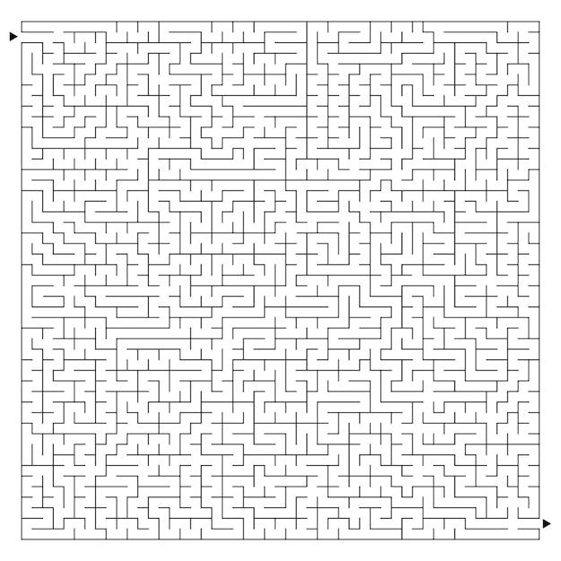 Grande labirinto difficile