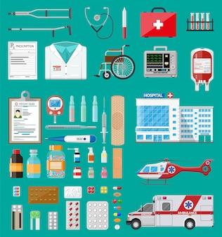 Grande set medico
