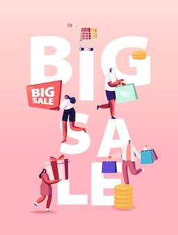 Illustrazione di grande vendita