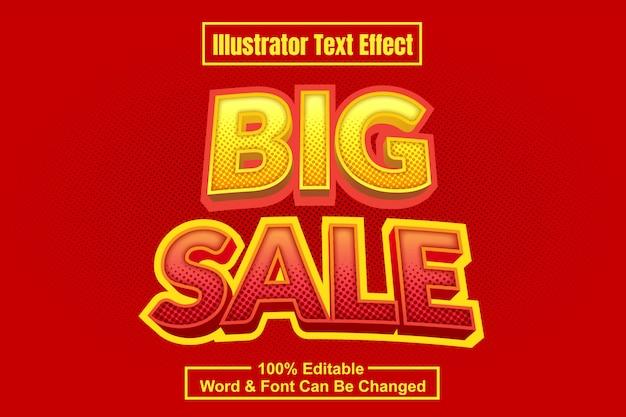 Effetto testo grande vendita
