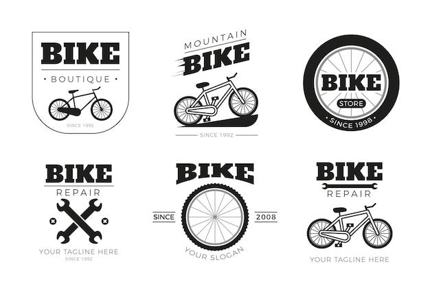 Collezione di logo della bici